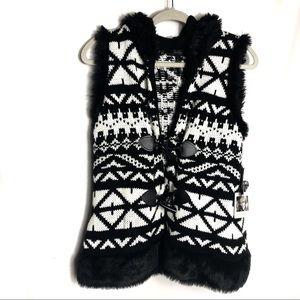 Jessica Simpson sleeveless sweater groupie Hoodie